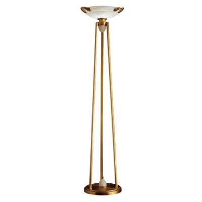 Imagen 1 de Blanes lámpara de Pie Patine rojizo Alabastro blanco