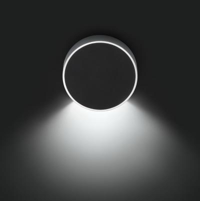 Imagen 1 de Alpha Aplique Redondo 1xLED 2,1W - Lacado blanco Mate y Cromo