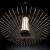 Imagen 5 de Cross Lámpara colgante LED 22W ø57x29cm - Transparente y cromo