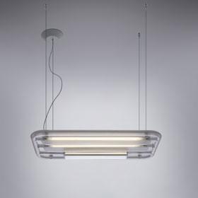 Imagen 1 de Ossimoro Lámpara Colgante , material termoplastico Transparente.