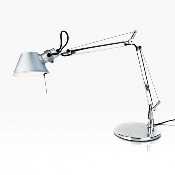 Imagen 1 de Tolomeo Micro (con base della lampada tavolo) halógena E14 1x46w - Alluminio