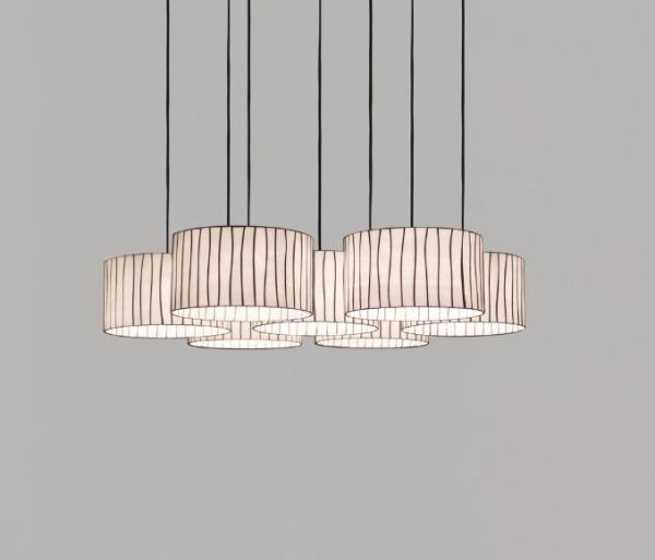 Arturo Alvarez Curvas Pendant Lamp Siete Lampshades Cv04 7