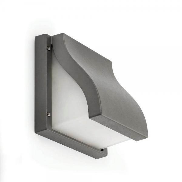 Imagen 1 de Suma Aplique Exterior 25cm E27 2x15w gris Oscuro