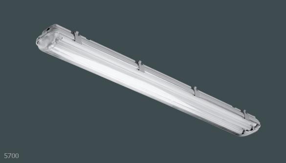 Intra Lighting 5700 2x28w T16 G5 Ip65 Deb 1 10v 15 7003