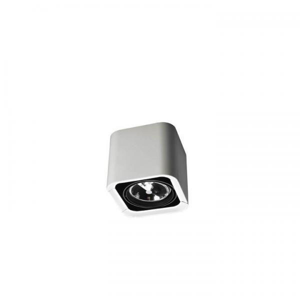 Imagen 1 de Baco Luminaria de Superficie Individual 1xGU5.3 IP23 blanco