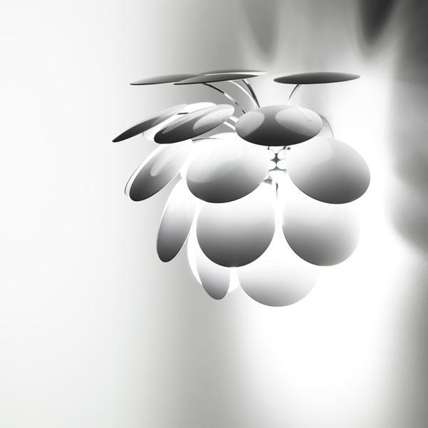 Imagen 1 de Discocó A Aplique 38cm blanco