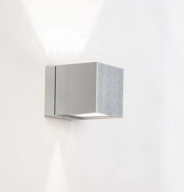 Imagen 1 de Dau Aplique 1 luz Doble haz de luz G9 Aluminio Anodizado blanco