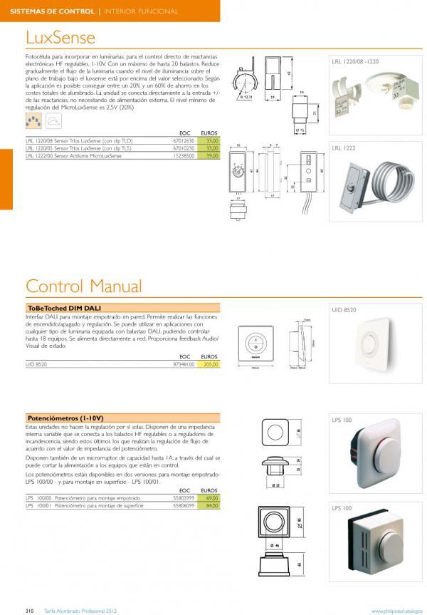 Imagen 1 de Control Manual LPS 100/01 Potenciómetro para montaje de Superficie