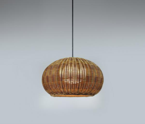 Imagen 1 de Garota - S 01 (Solo Structure) Lamp Pendant Lamp Outdoor without lampshade LED 9w TRIAC Brown
