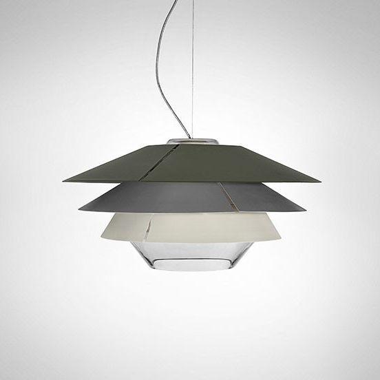 Imagen 1 de Overlay S25 Lamp Pendant Lamp G9 60W - Glass Grey