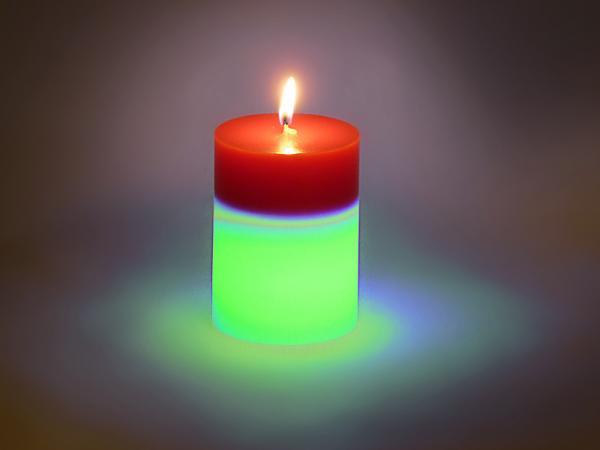 Schuller vela led set 6 bicolor velas led 522062 - Velas de diseno ...