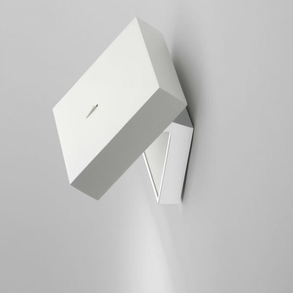 Imagen 1 de Alpha Aplique Lectura 1xLED 2,1W - Lacado blanco Mate y Cromo