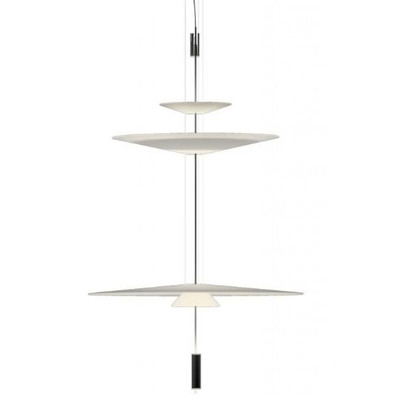 Imagen 1 de Flamingo Pendant Lamp 155 cm 3xLED 5,6W dimmable - Lacquered Graphite mate