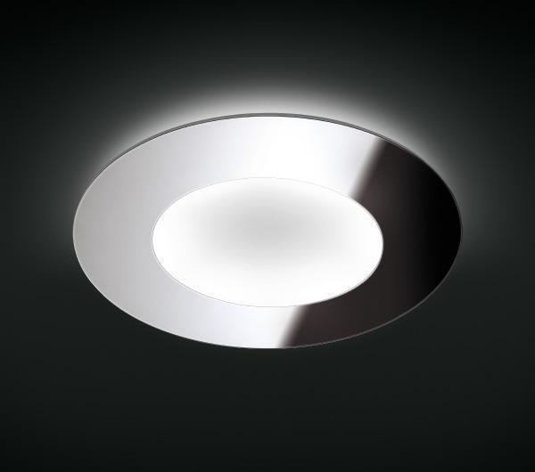 Imagen 1 de Mega 90 ceiling lamp Lacquered white