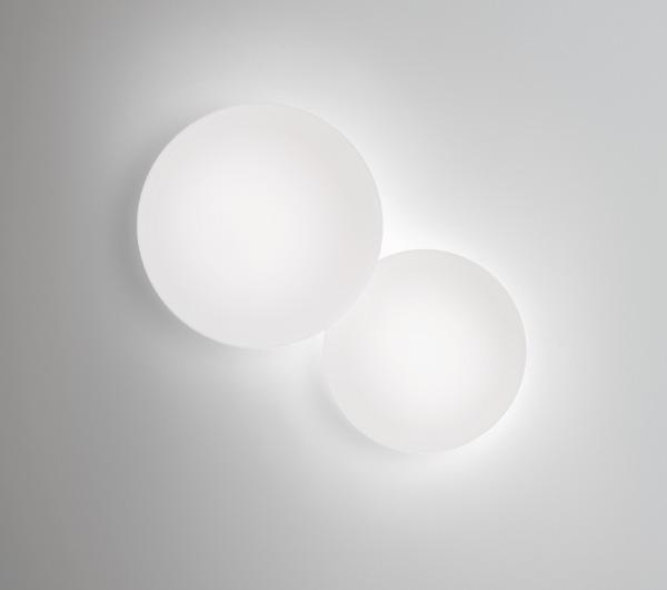 Imagen 1 de Puck Lampada da Applique doppia 2xG9 40w Bianco opaco Laccato