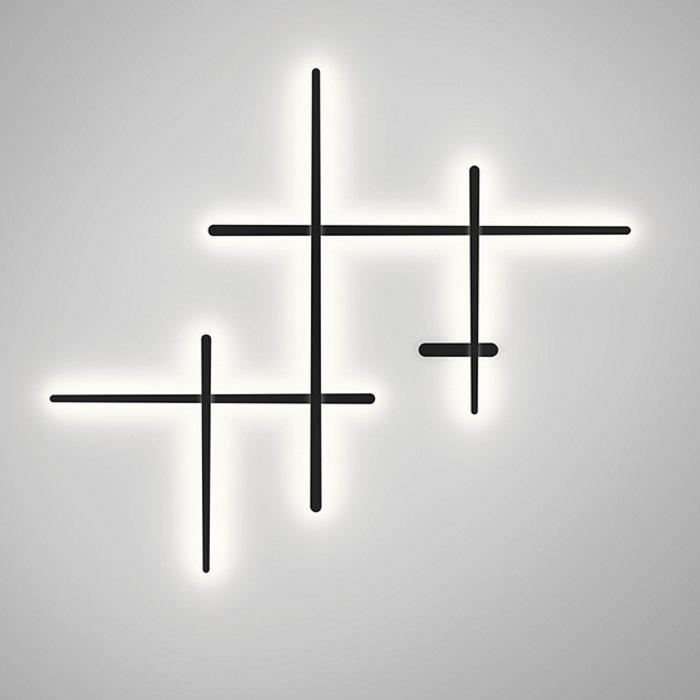 Imagen 1 de Sparks Applique Grand LED 58,5w dimmable dali - Gris grafito