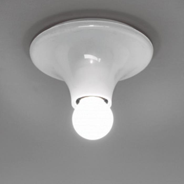 Imagen 1 de Teti Wall Lamp ø14x7cm E27 1 unit for confección max 4 parts white