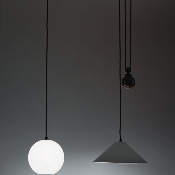 Imagen 1 de Aggregato (Zubehörteil) Diffuser esferico weiß für Lampe Pendelleuchte Halo