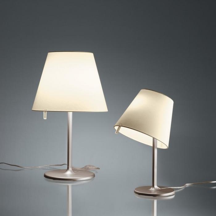 Artemide Melampo Small Night Table Lamp Max 1x42w 0710020a L 225 Mparas De Dise 241 O