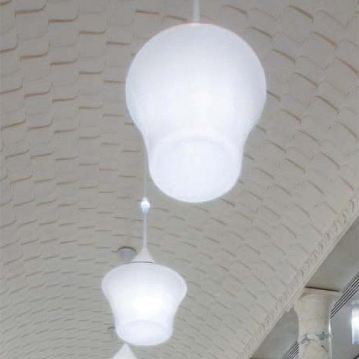 Imagen 1 de Calenda Lámpara Colgante ø93cm 4x55w 2G11 + 1,2w LED blanco
