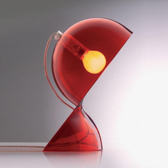 Imagen 1 de Dalú Table lamp Transparent red