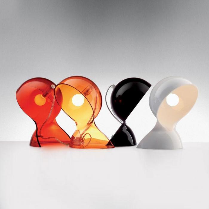 Imagen 1 de Dalú Table lamp Transparent orange E14 184x260cm