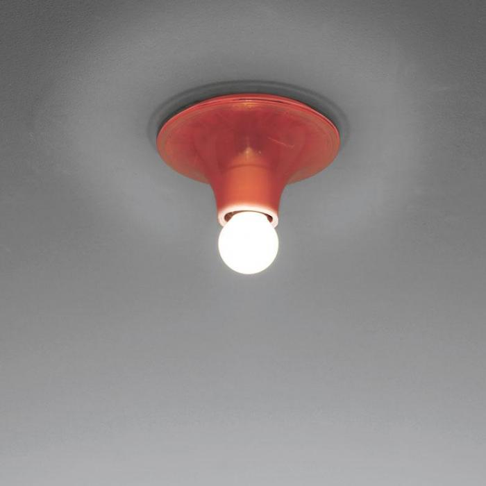 Imagen 1 de Teti Wall lamp ø14x7cm E27 30W Orange