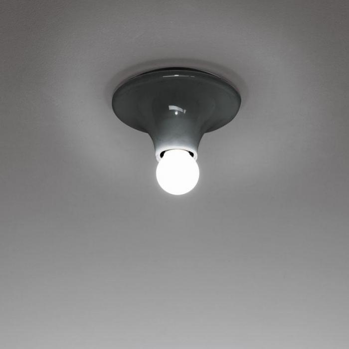 Imagen 1 de Teti Wall lamp ø14x7cm E27 30W Grey anthracite