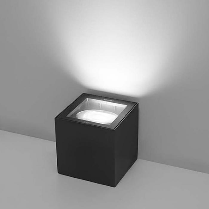 Imagen 1 de Basolo cube Toit o suelo 27W LED (incl.) 3000K Gris