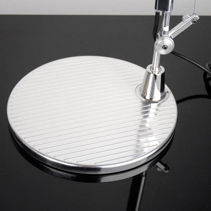 Imagen 1 de Tolomeo Mini (accesorio) Base de Sobremesa 20cm - Aluminio