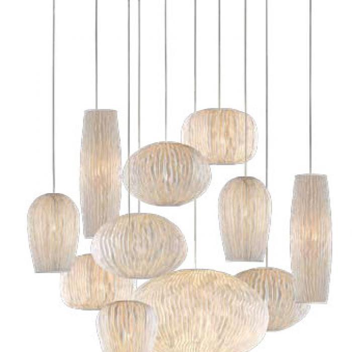 Imagen 1 de Coral Pendant Lamp composition 11 parts 135x135x250cm E27