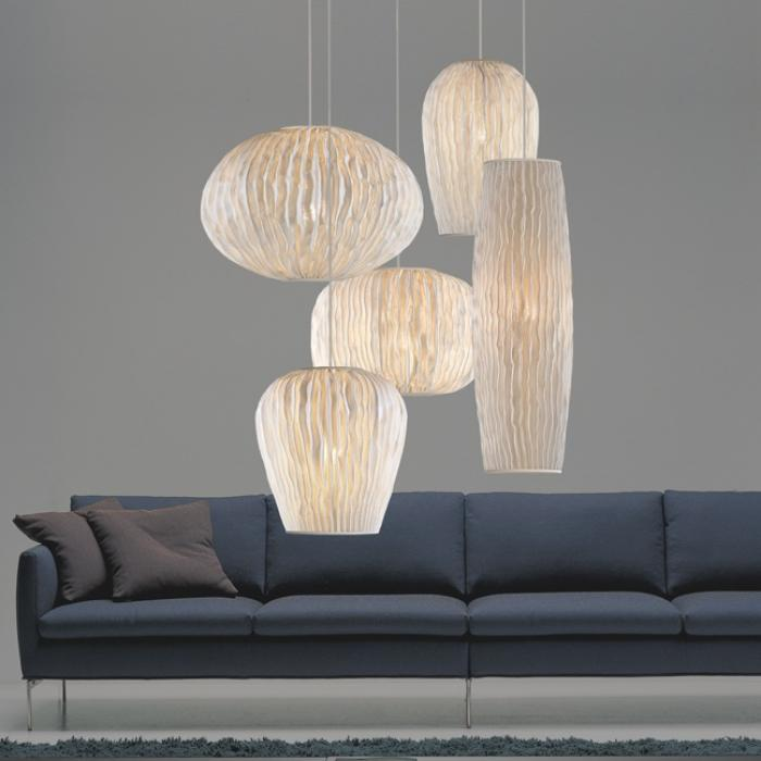 Imagen 1 de Coral Pendant Lamp composition 5 parts