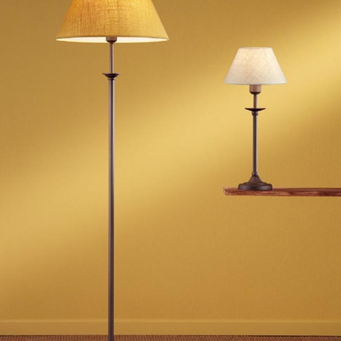 Imagen 1 de Riva F2 M Stehlampe óxido lampenschirm saco amarilla 1xE27 11W (LED) o 60W (HA)