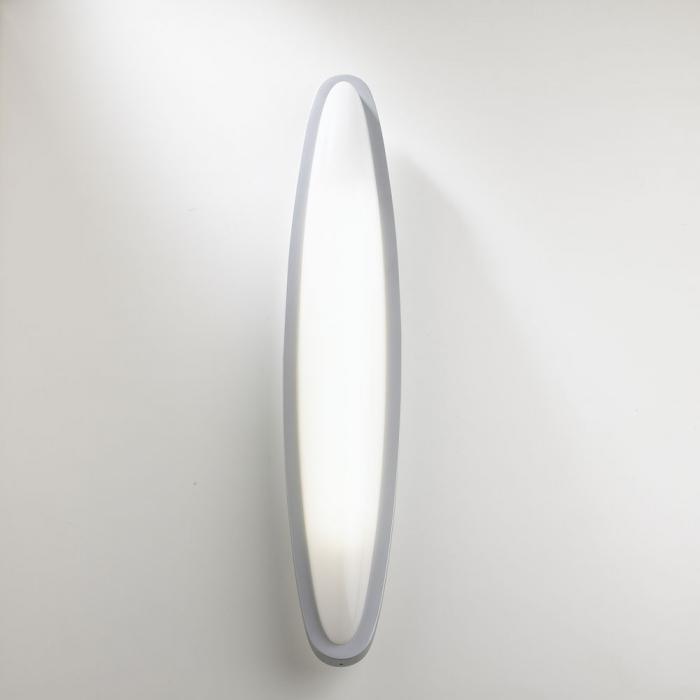 Imagen 1 de Ovo Wall lamp 2G11 36W - Grey mate