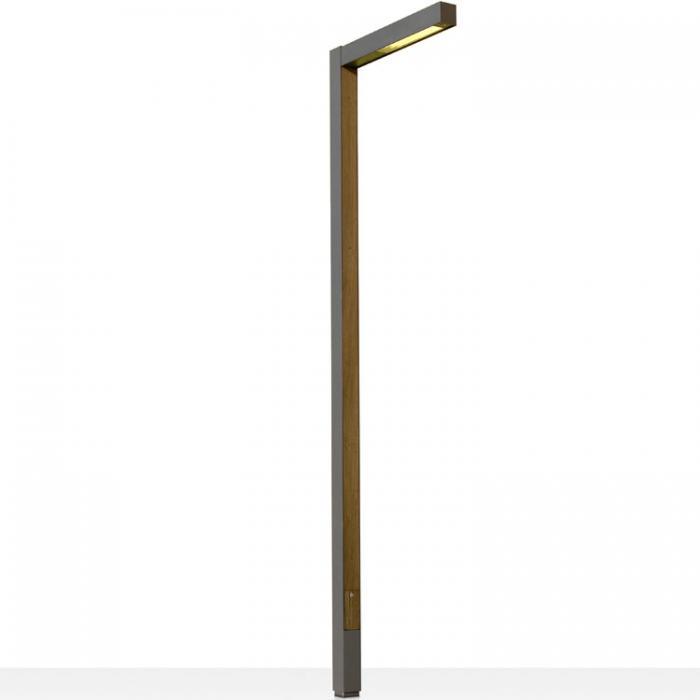 Imagen 1 de Zenete 300 1 Streetlight LED 2x33,6W - metal and Wood