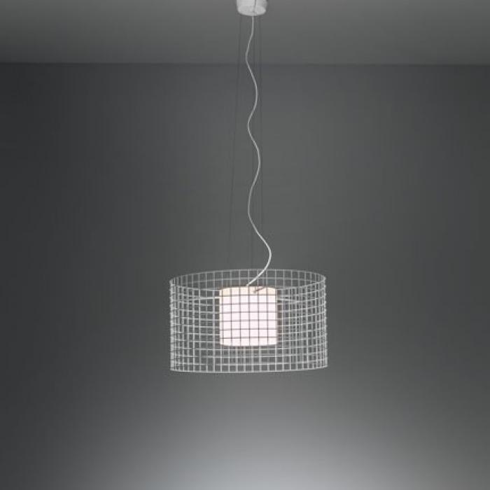 Wire Light S40 Lampe Pendelleuchte G9 60W Holz kakhi