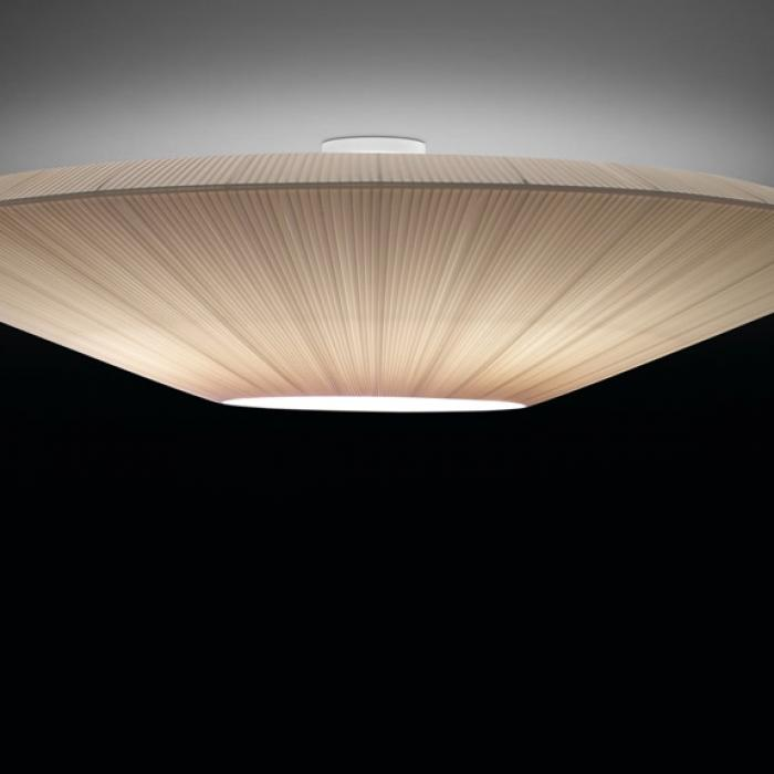 Imagen 1 de Siam - 120 (Solo Structure) ceiling lamp without lampshade E27 46w Large white 9010 Crude