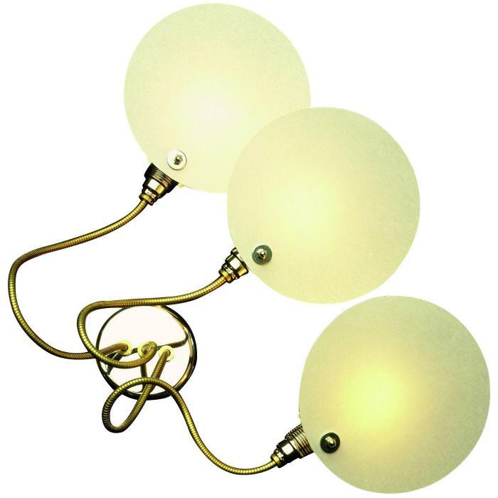 Imagen 1 de Cartaflex 3 Wall lamp/ceiling lamp Nickel