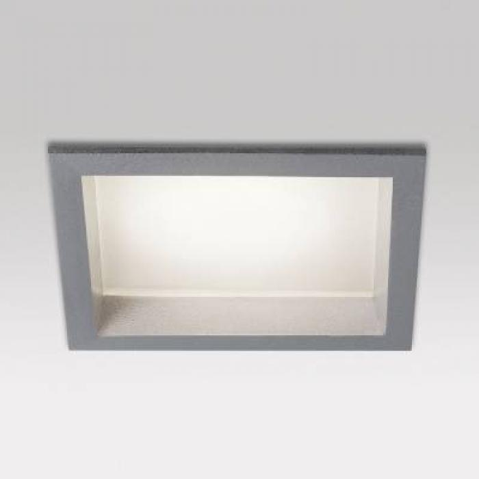 Delta Light Carree Gt S1 Aluminio Gris 202 50 11 A