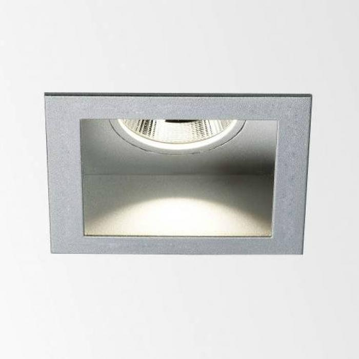 Delta Light Carree X Led 3033 S1 Aluminium Grey 202 20