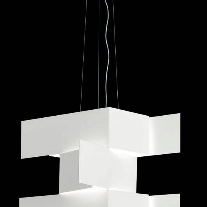 Imagen 1 de Shadow T 2935 Pendant Lamp 2G11 2x55W white