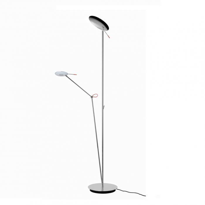 Imagen 1 de Moon P 3009 lámpara of Floor Lamp cable net Nickel