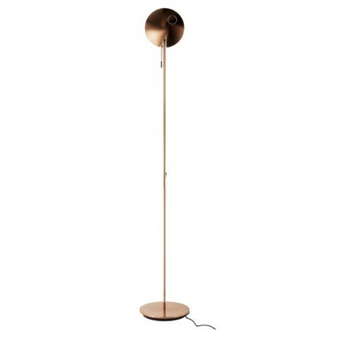 Imagen 1 de Moon P 3009 lamp of Floor Lamp Copper/Black mango
