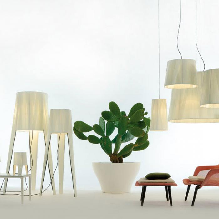 Imagen 1 de Dress Wall Lamp rectangular 180 cm E27 6x18W white