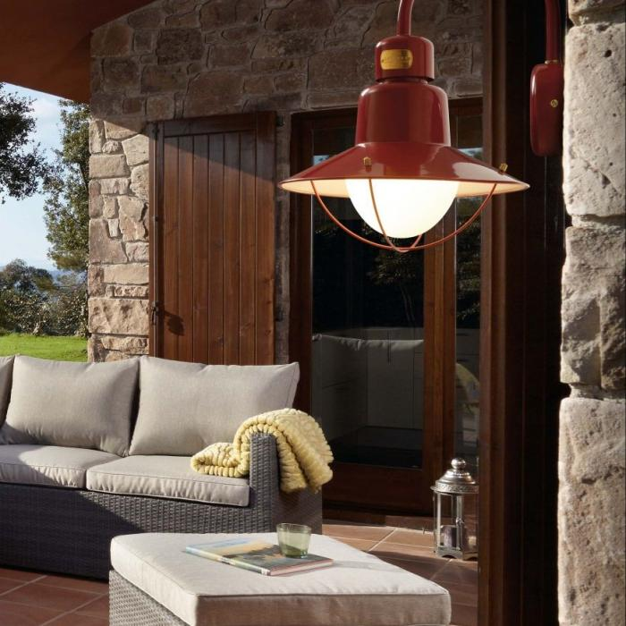 Faro Newport Aplique Exterior 34,6cm E27 15w 71151
