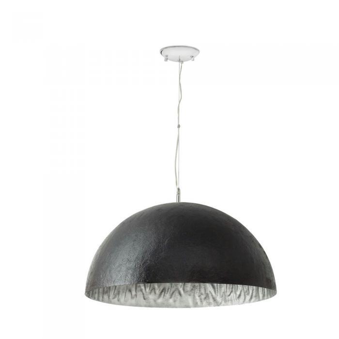 Imagen 1 de Magma Pendant Lamp Small 3L E27 60w Black + Silver ø70cm