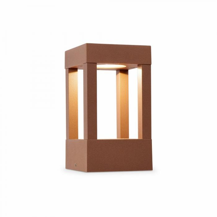 Imagen 1 de Agra Baliza Exterior Marrón LED 1x5w H 20 cmS
