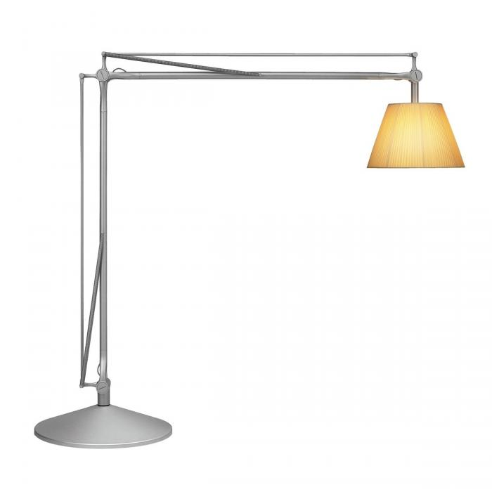 Imagen 1 de Superarchimoon lámpara of Floor Lamp E27 HSGS dimmable Silver Matt Diffuser tela