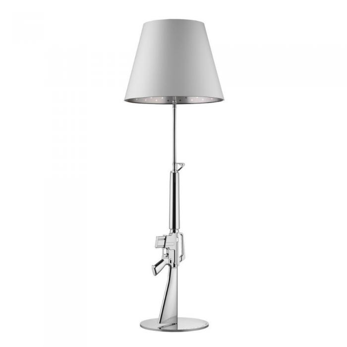 Imagen 1 de Gun lámpara of Floor Lamp 1x205w E27 with dimmer Chrome