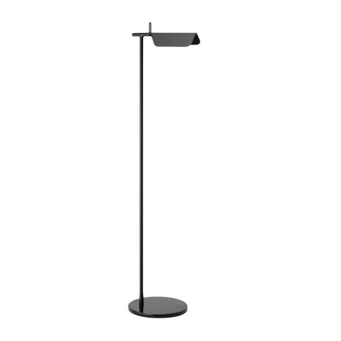 Imagen 1 de Tab F1 LED lámpara de Pie 110cm LED 5w Negro Brillante